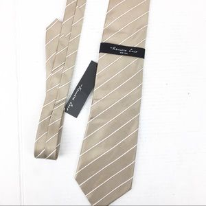 NWT Champagne Kenneth Cole Tie